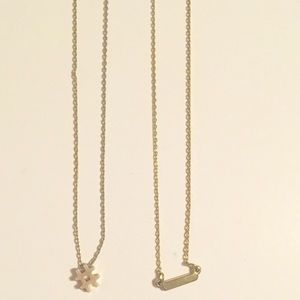 Jewelry - Two small layering necklaces